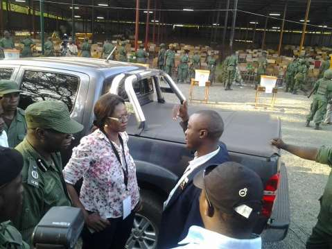 Police fire warning shots at Mulungushi University as PF chairperson for election Syvia Masebo declares the PF convention illegal