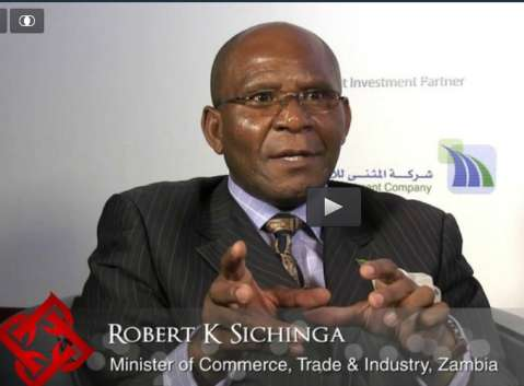 Robert K Sichinga is the Minister of Commerce, Trade & Industry of Zambia