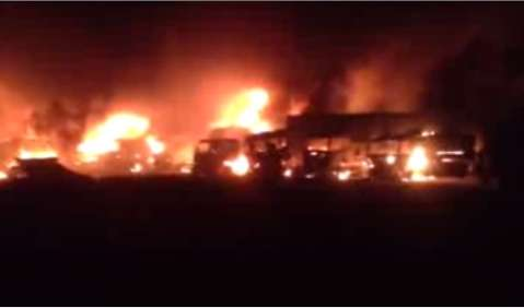 There are unconfirmed reports of five drivers burnt to death at the Kasumbalesa border post inZambia.