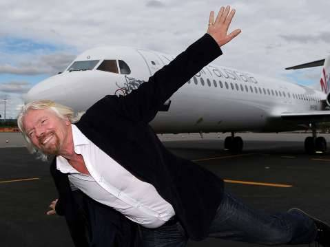 British Billionaire and Founder of Virgin Airlines, Richardson Branson