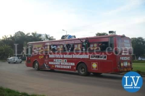 HH Supporter Bus in Lusaka