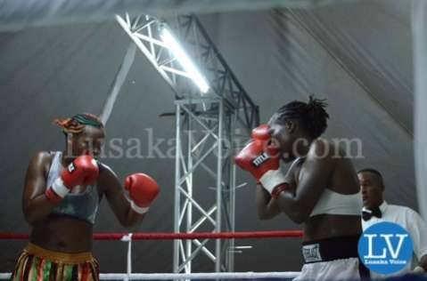 Esther Phiri vs Evelyn Odoro in Lusaka
