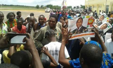 HH joined supporters in Mansa to discuss how he will move Zambia's economy forward.