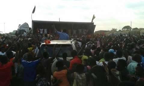 Hakainde Hichilema -· Edited Thank you Kapiri Mposhi for your warm welcome.