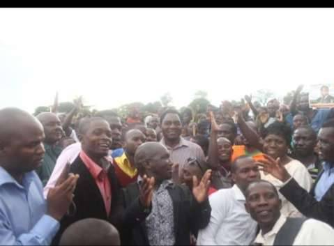 Hakainde Hichilema campaigns in Nakonde and Isoka