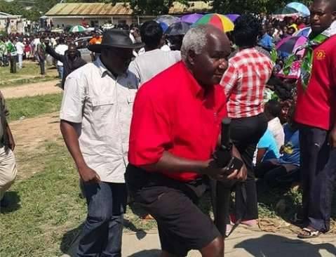 Hon Panji Kaunda also arrives