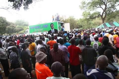 LAUNCH OF PF NATIONAL CAMPAIGN in Pictures - Truck