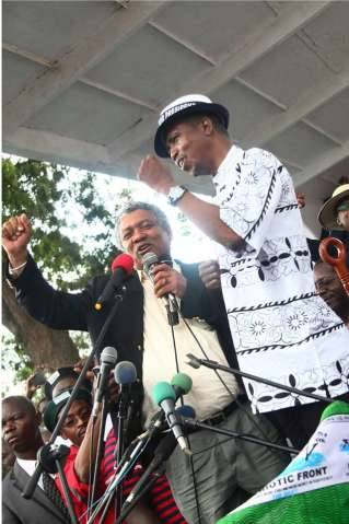 LAUNCH OF PF NATIONAL CAMPAIGN in Pictures with Lubinda - Lungu