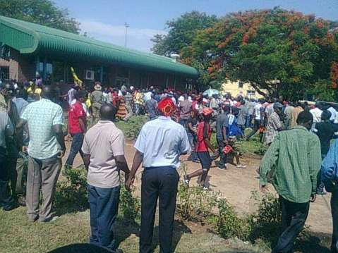 LIVINGSTONE thank you for welcoming HH.He is now touring markets,public places.