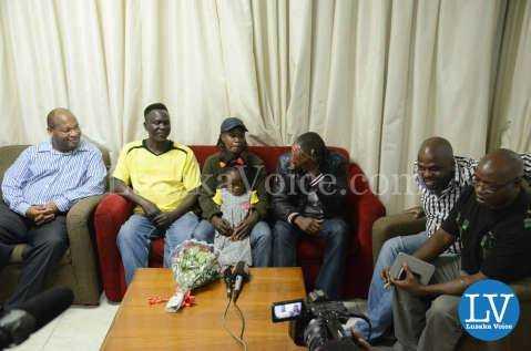 Media Briefing for Ester Phiri vs Evelyn Odoro Boxing
