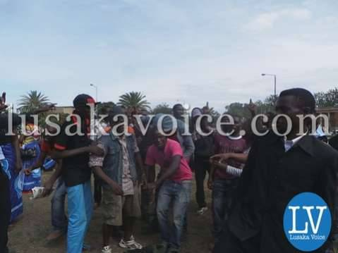 Nevers Mumba's supporters at Supreme Court in Lusaka  onDec 15, 2014 by Lusakavoice.com-5