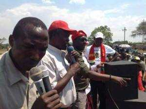 UPND Mazabuka rally addressed by veep Kapita, hon Nkombo and others