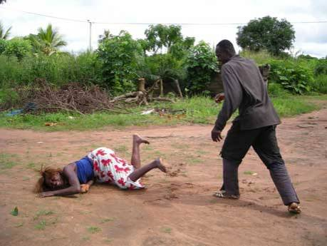 men battered by their wives