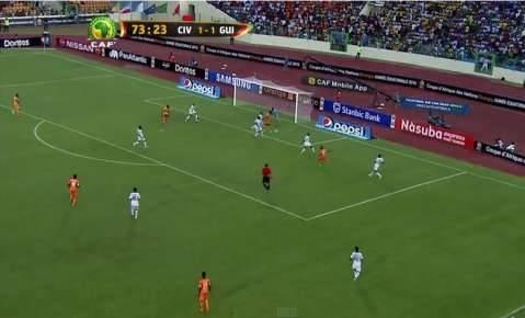Côte d'Ivoire - Guinea   CAN Orange 2015   20.01.2015