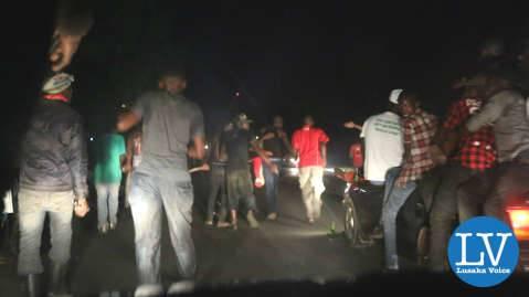Cadres Celebrate Lungu's Victory - Lusaka Voice