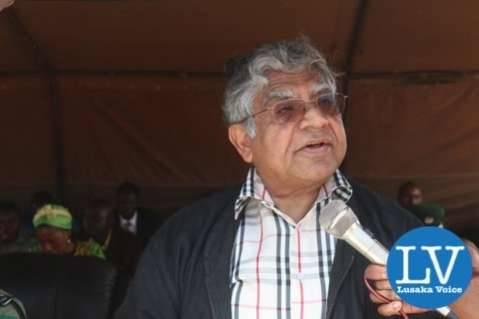 Dr Raj Mahtani.  - Photo Credit : Jean Mandela for Lusakvoice.com