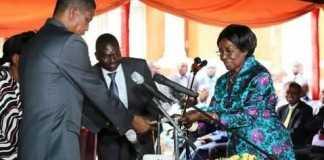 Inonge Wina has become Zambia's first woman Vice President in Zambia's history.