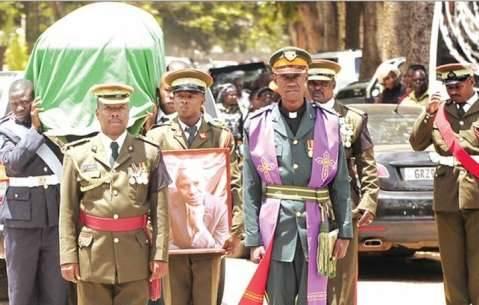 Lusaka Province minister and diplomat Elias Chipimo Snr