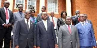 Others members of the Cabinet appointed and sworn-in are Davis Mwila who becomes Home Affairs Minister,Ngosa Simbyakula as Justice Minister and Harry Kalaba who has bounced back as Foreign Affairs Minister.