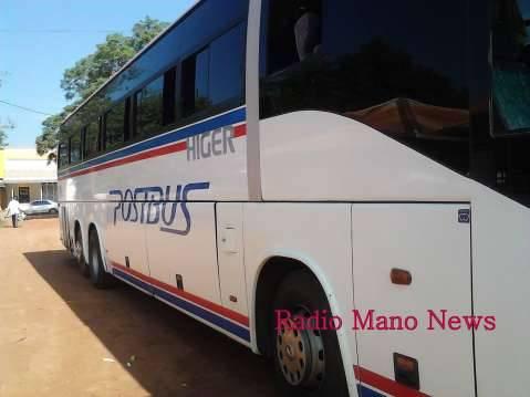 Post Bus registration number ALE 5889