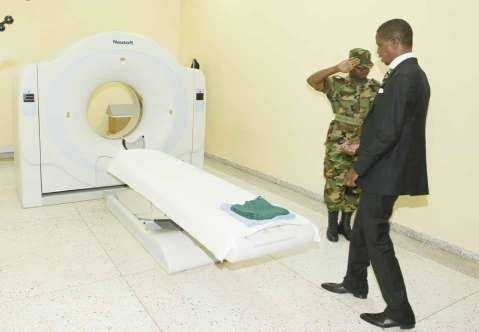 President Edgar Chagwa Lungu arrives at Maina Soko Military Hospital for medical examination on Wednesday,January 28,2015.PICTURE BY SALIM HENRY/STATE HOUSE