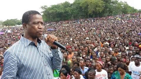 Samfya welcomes Edgar Lungu