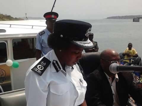 Regional police commissioner Charity Katanga