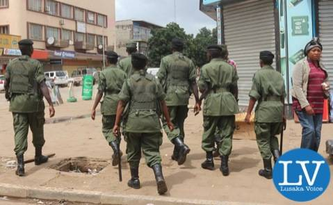 The ZP is intensifying patrols in the streets of Lusaka ahead of the Tuesday Presidential polls, some ZP officers were spotted at the Lusaka Cairo Road pedestrian cross this Sunday, January 18th! by Jean Mandela for Lusakavoice.com