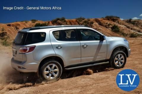 Chevrolet Trailblazer - Image Credit - General Motors Africa