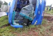 Kitwe bound Mazhandu Family Bus claims one life