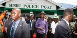 PRESIDENT LUNGU COMMISSIONS MISISI, JOHN HOWARD POLICE POSTS AND WATER KIOSK IN CHAWAMA CONSTITUENCY -PICTURES BY THOMAS NSAMA