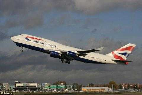 A British Airways captain told passengers the smell was from 'liquid faecal excrement' in a toilet A British Airways captain told passengers the smell was from 'liquid faecal excrement' in a toilet