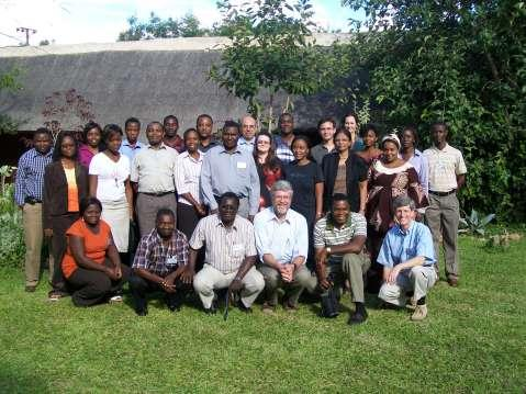 A diverse group of faculty researchers, including Lusaka-based individuals from U.S. institutions, Zambian investigators, and continuous collaboration from other researchers from a wide swath of U.S. institutions