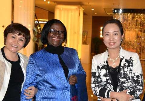 Ambassador Ms. Eva Fundafunda launched the 50th Anniversary of Diplomatic Relations between China and Zambia