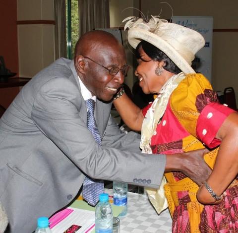 Bashi Lubemba Paramount Chief Chitimukulu and Chieftainess Nkomesha Mukamambo II