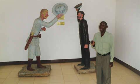 Dr. Livingstone meets Stanley