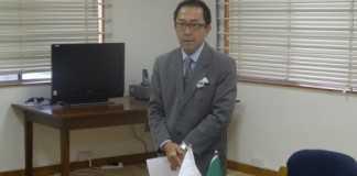 H.E. Mr. Kiyoshi Koinuma, Ambassador of Japan to Zambia
