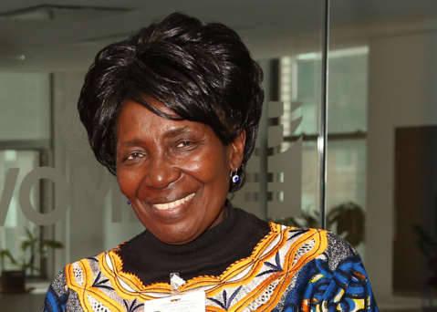 Her Honour Mrs Inonge Wina, Vice-President of the Republic of Zambia