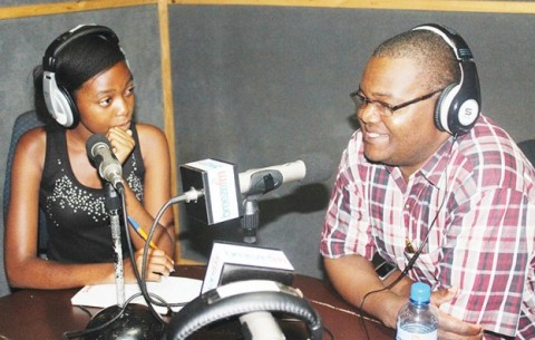 INFORMATION and Broadcasting Services Deputy Minister Forrie Tembo (right) - Image Credit Breeze FM