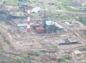 Maamba Colliers Plant aerial view
