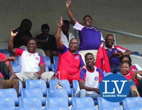 Mbabane Swallows supporters - Photo Credit Jean Mandela - Lusakavoice.com