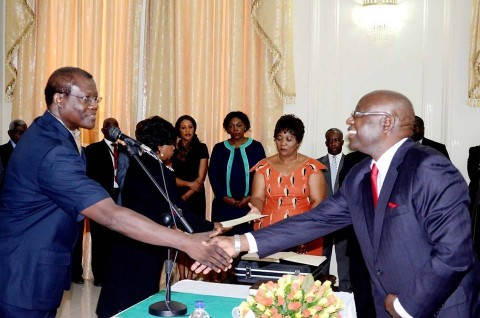 Permanent Secretary Godfrey Malama