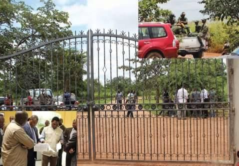 Police search Hakainde Hichilema's homes