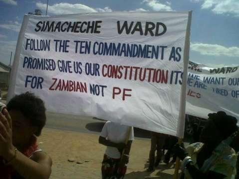 Tension in Zambia created by constitution making process