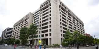 The International Monetary Fund headquarters: