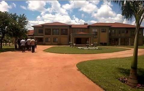 This is the new Residence of Opposition United Party for National Development (UPND) Hakainde Hichilema in New Kasama, Lusaka.