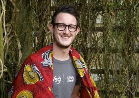 Toby Armiger of Aylsham who's been volunteering in Zambia for 3 months with the government-funded International Citizen Service. Pictrue: MARK BULLIMORE