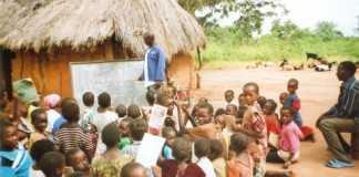 Village School in Simambwe, Zambia