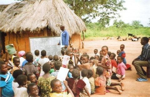 Village School in Simambwe, Zambia