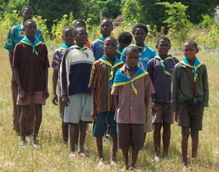 Zambia Scouts Association . Image Cedit IX09